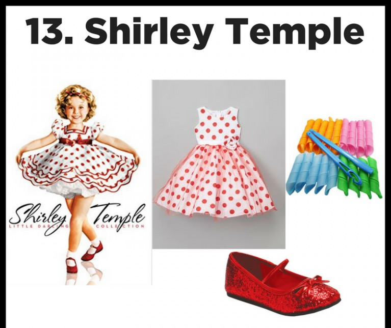 Good Ship Lollipop! - She sang and danced her way into our hears. With her round cheeks and signature curls, Shirley Temple is a sweet costume for our littlest dancers!