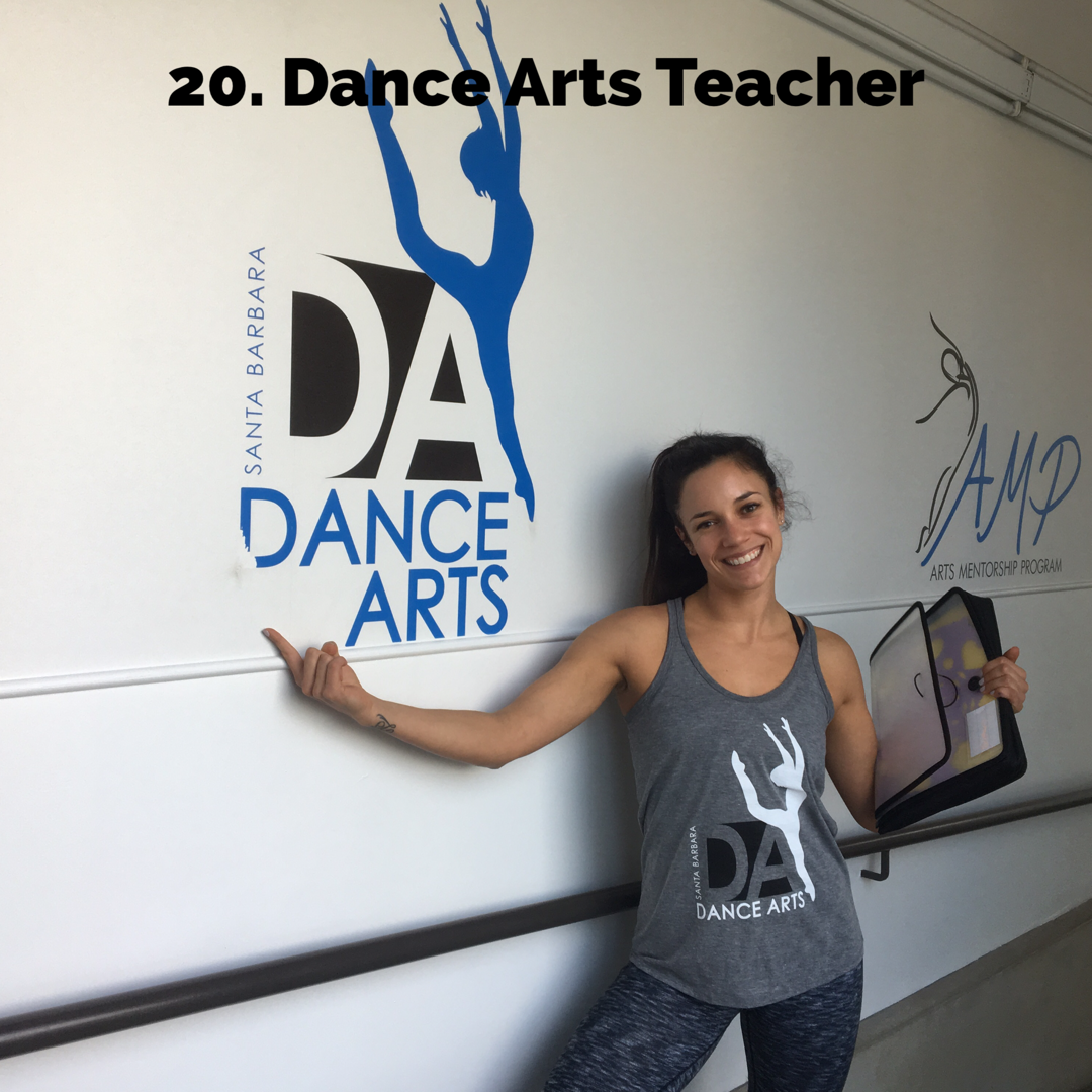 Dance Arts Teacher! - Grab your Dance Arts Gear in the store, get a 'roll sheet' and show your studio spirti as one of your favorite teachers!