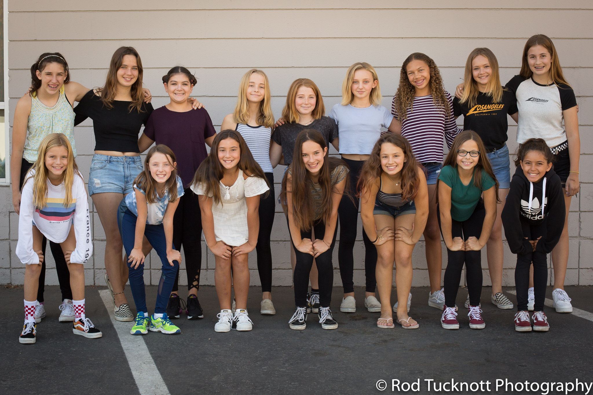 JUNIOR CREW  Back Row: Sofia Budke, Adela Weidmann, Riley Beainy-Johnson, Becca Poett, Siri Jacobson, Hope Willbanks, Jaz Gordon, Maddie Budow, Daylon Donati Front Row: Emma Hall, Cameron Weathers, Belle Olivera, Shelby Brewer, Taliah Ellis, Lia Hafner, Kayli Scafidi, (not pictured) Lily Kozlowski
