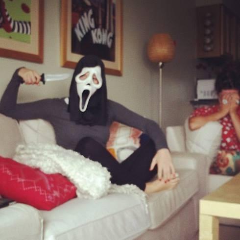 scream killer costume