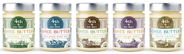 health benefits of ghee 4th & heart