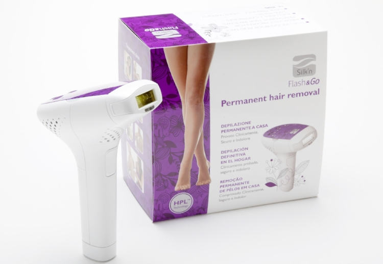 silkn Flash&Go does laser hair removal work