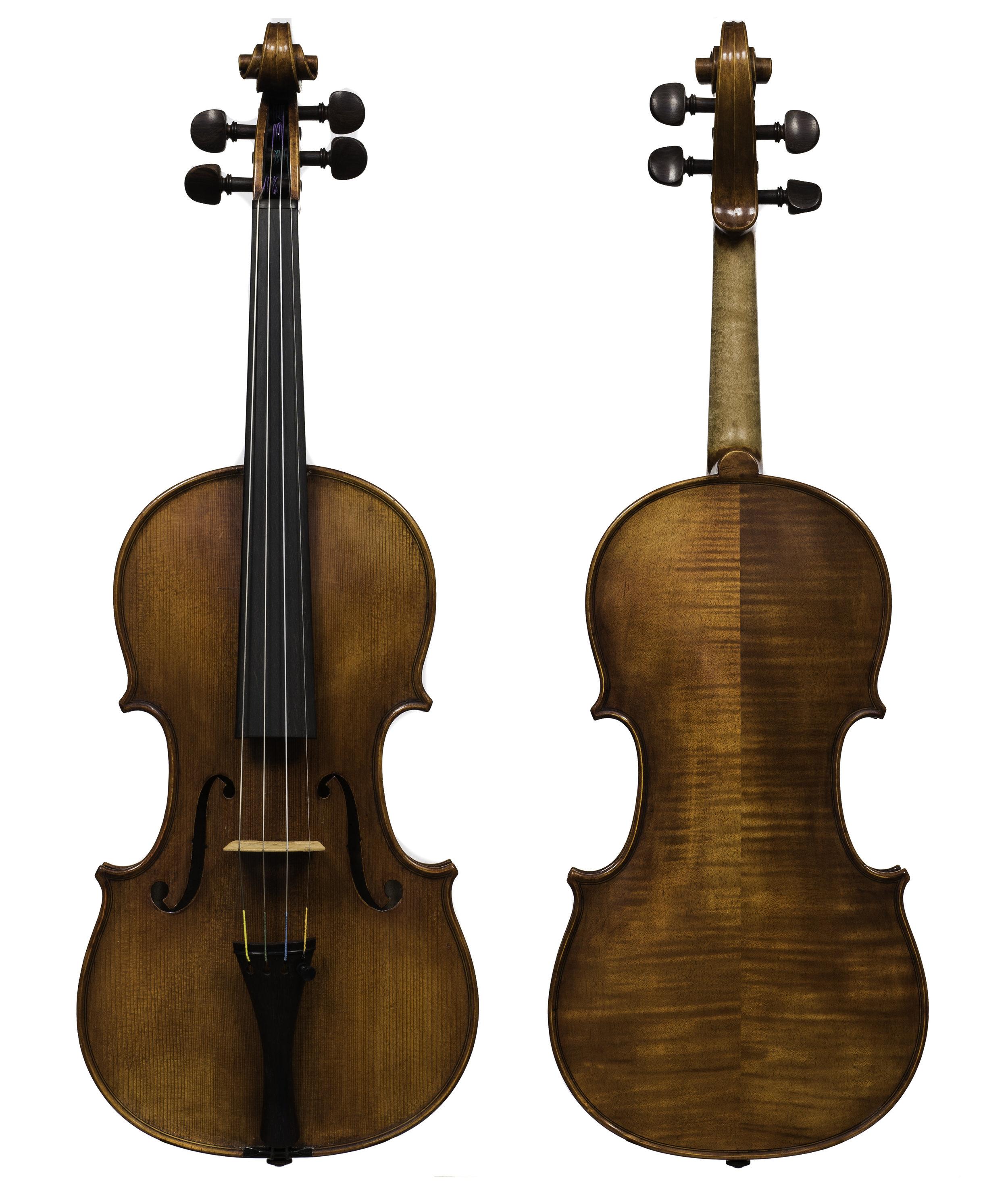 Unlabeled Violin