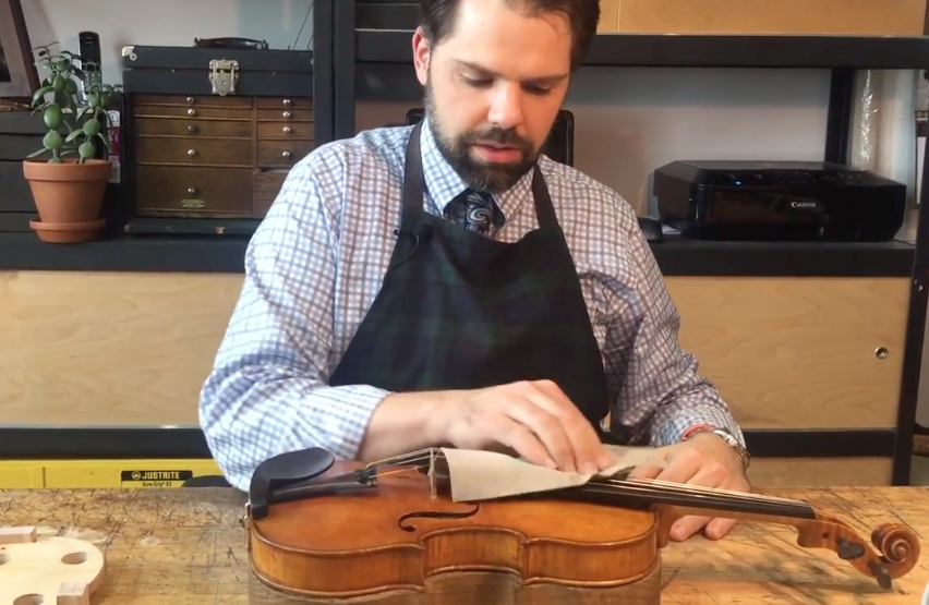 Ryan McLaughlin, luthier
