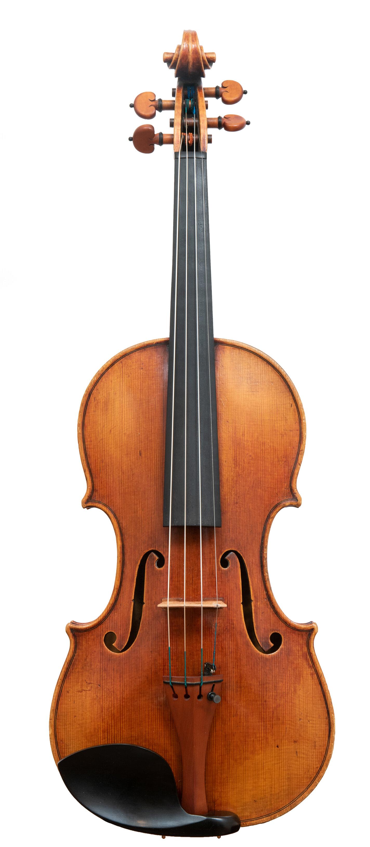 Joseph Curtin Violin_Ann Arbor, MI_1994_Front.jpg
