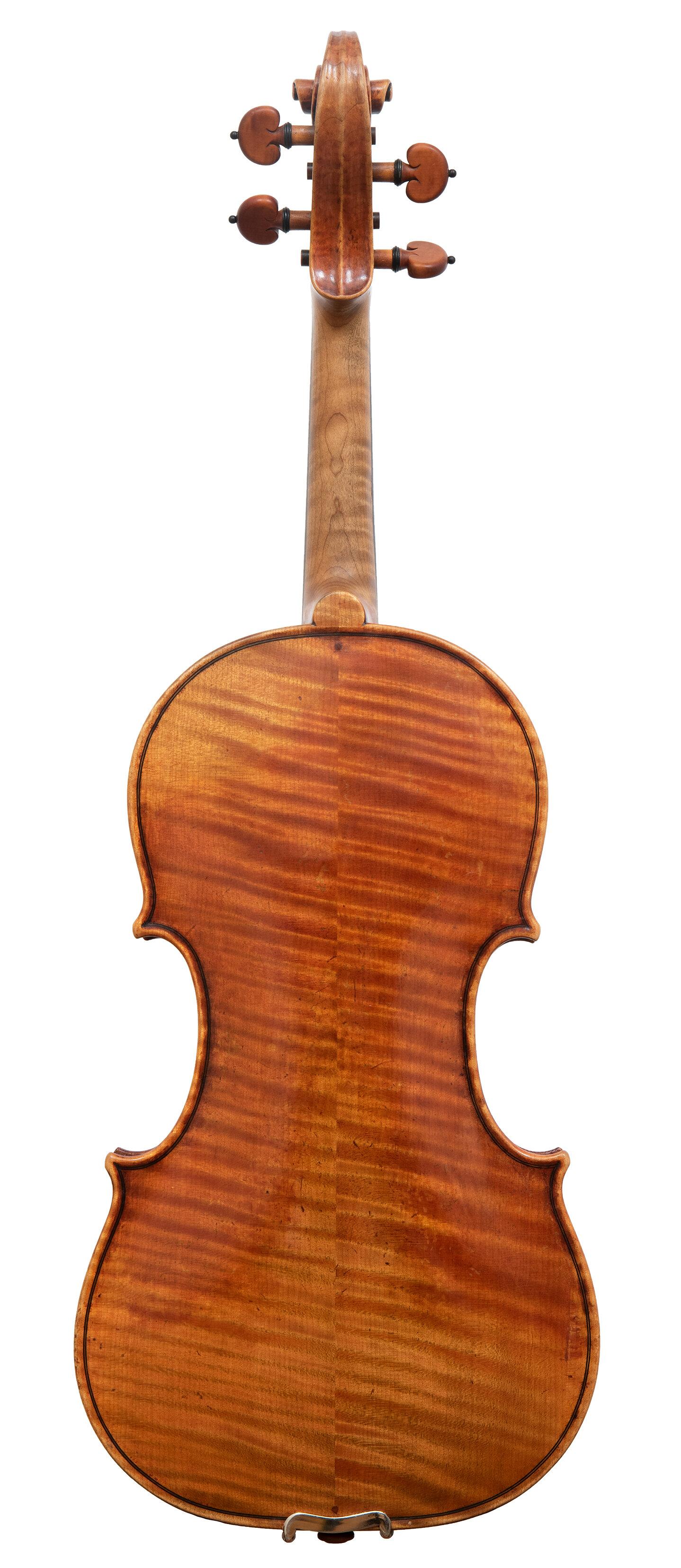 Joseph Curtin Violin_Ann Arbor, MI_1994_Back.jpg