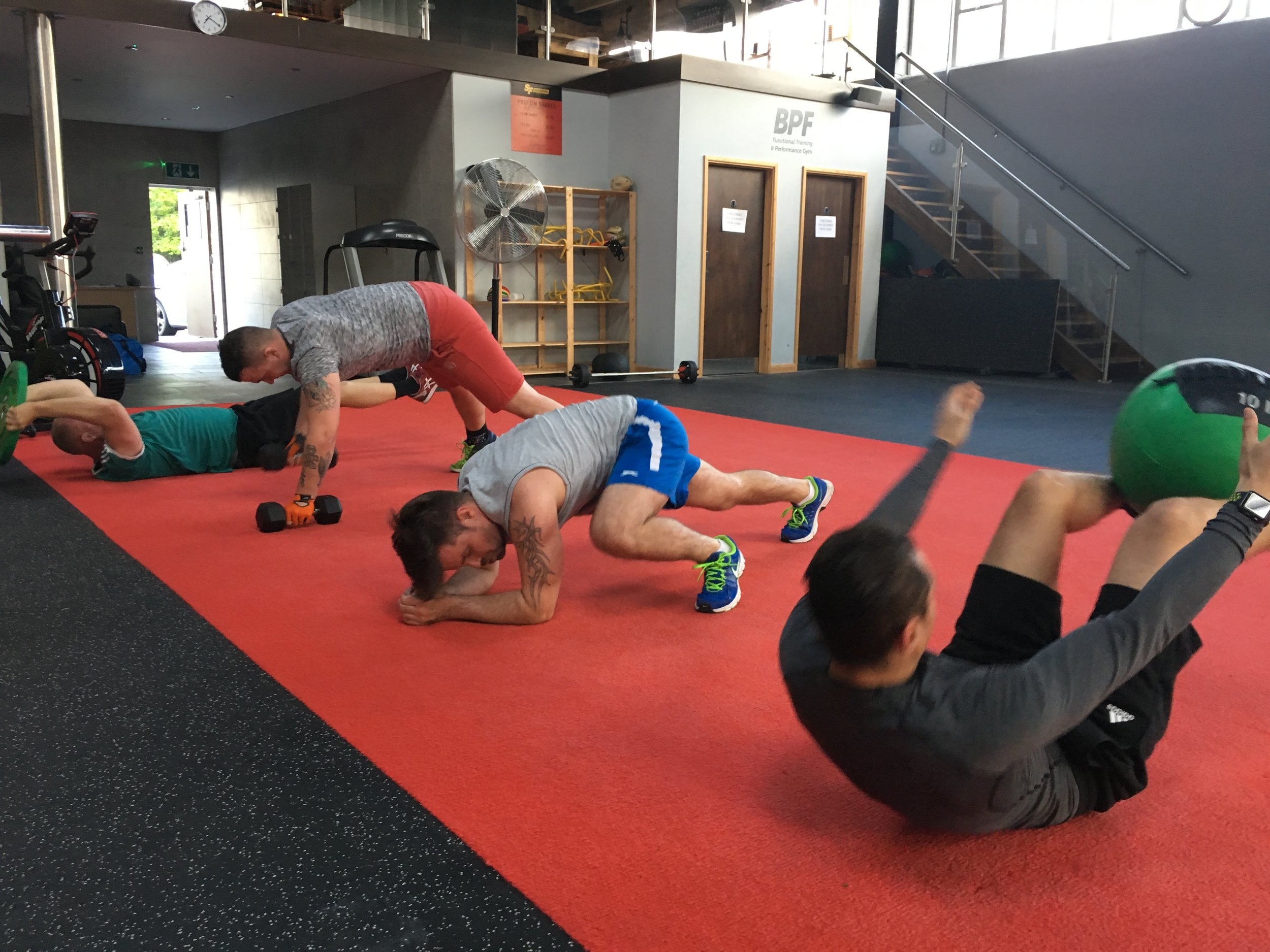Be part of an exclusive community. - You also have access to our exclusive fitness suite, training with other like minded individuals and online community where you can communicate with fellow members.