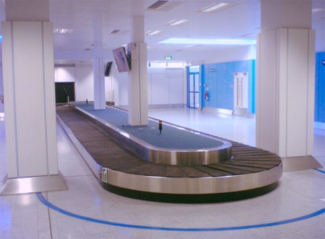 - Glidepath baggage handling system. Manufactured in New Zealand and installed in Barbados.