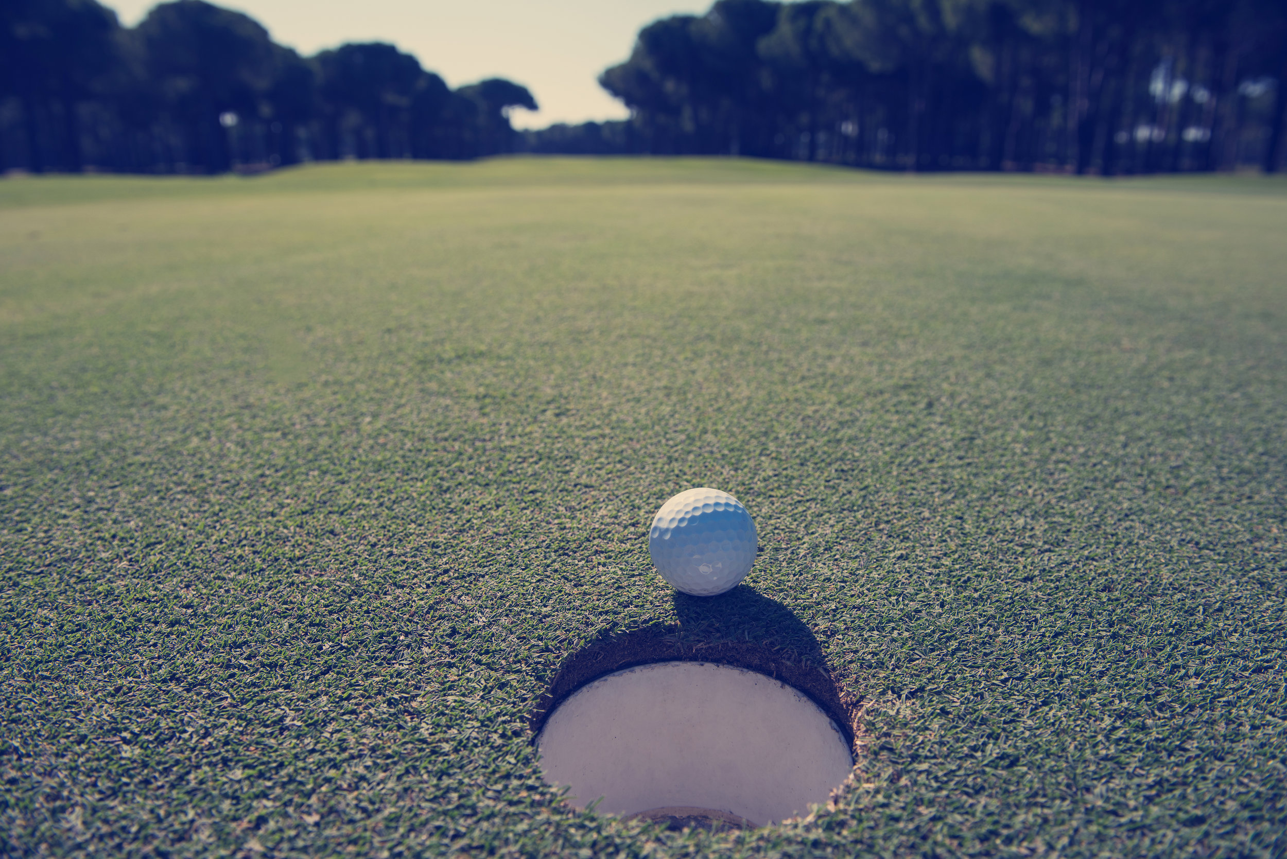 I'm totally relaxed when… - playing golf—especially when winning ☻