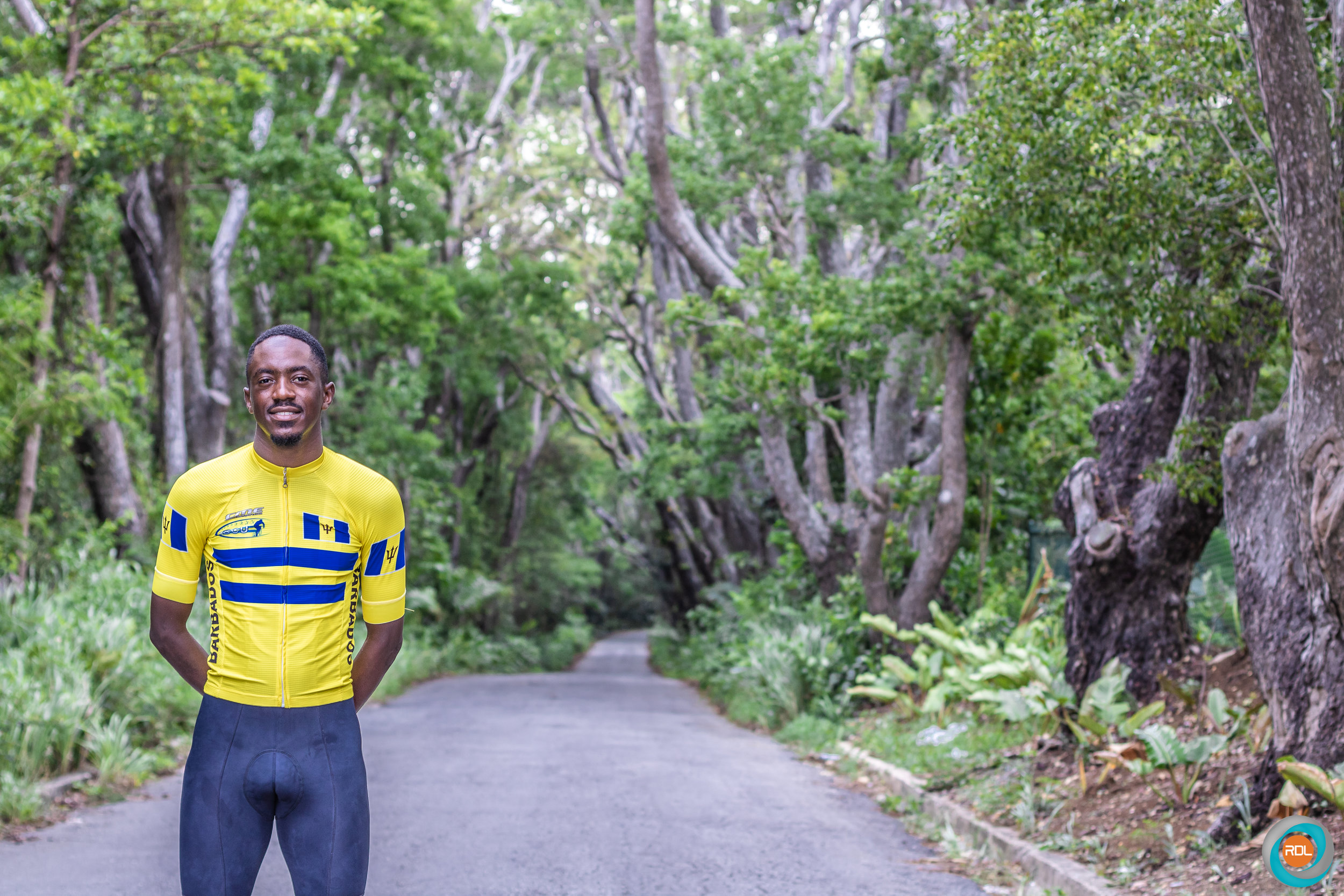 23-year-old Greg Vanderpool is the 2019 Barbados National Road Race champion.