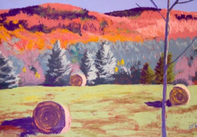 BUSHNELL-SAGE ART WALL