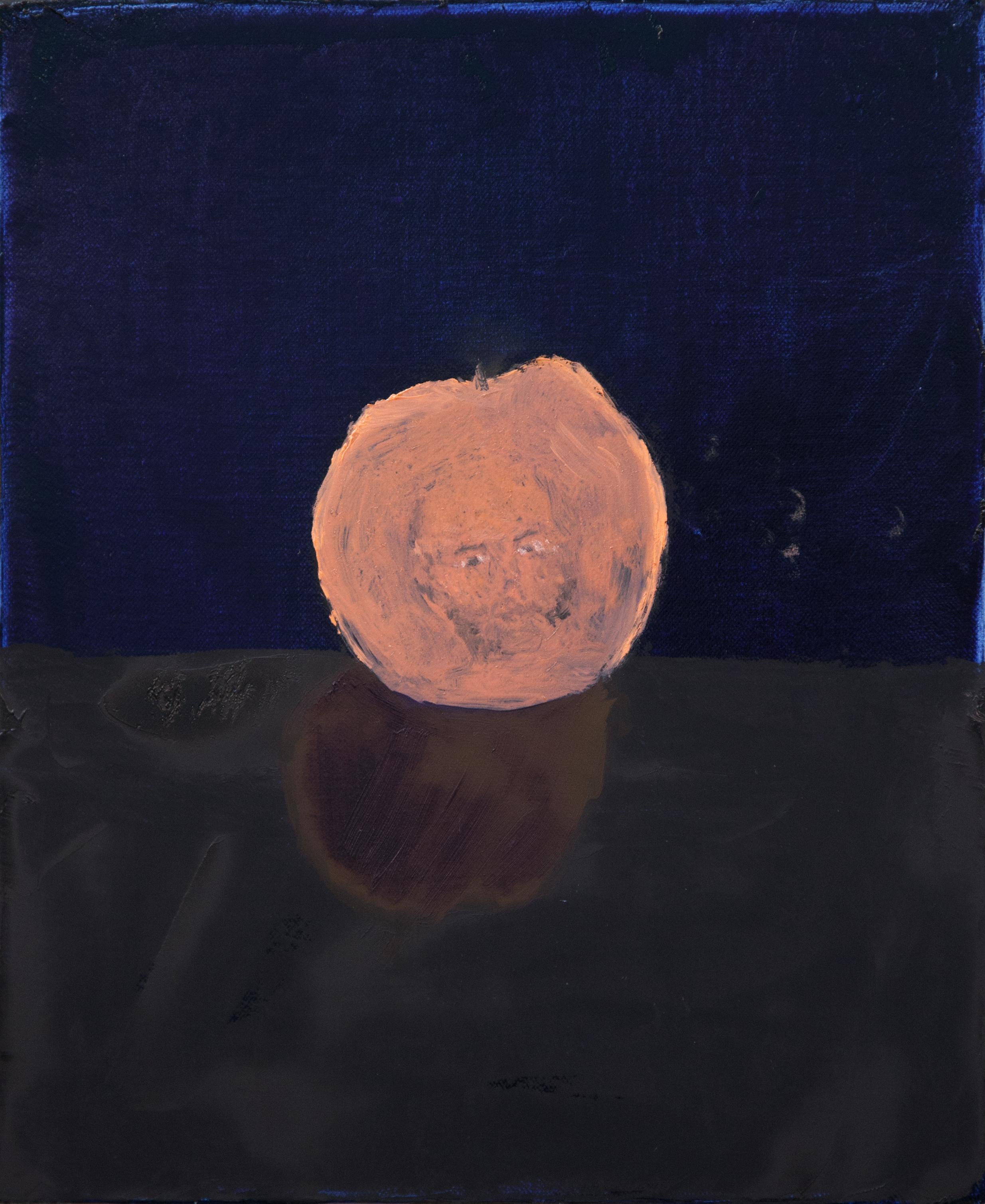 "Dustin Metz ""Self Portrait Peach"""
