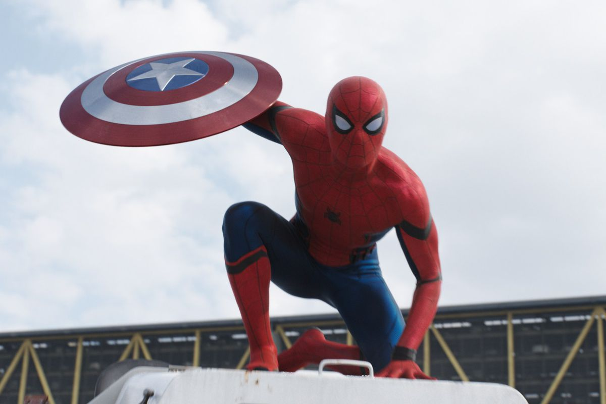 Peter Parker's first appearance in the Marvel Cinematic Universe  may have been in  Iron Man 2  , but Spider-Man's first appearance was  Captain America: Civil War.