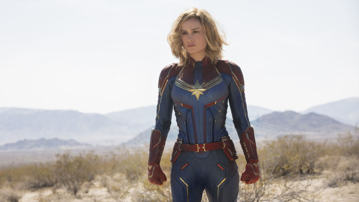 Brie Larson stars in  Captain Marvel , now playing.