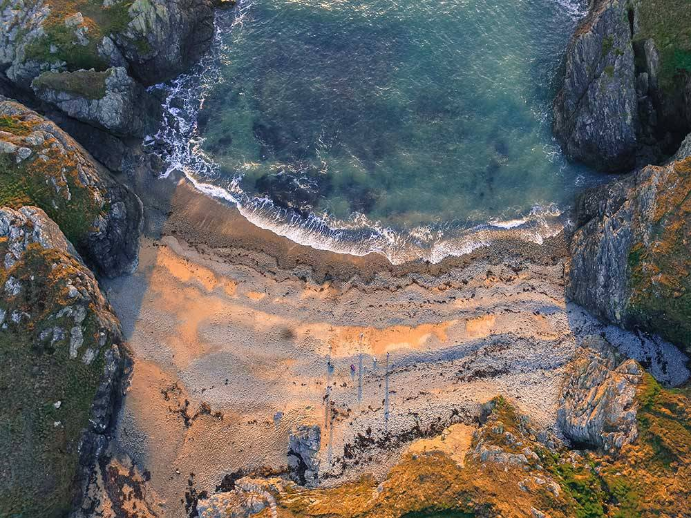 August — Porth y Corwgl, Anglesey — Alex Davies
