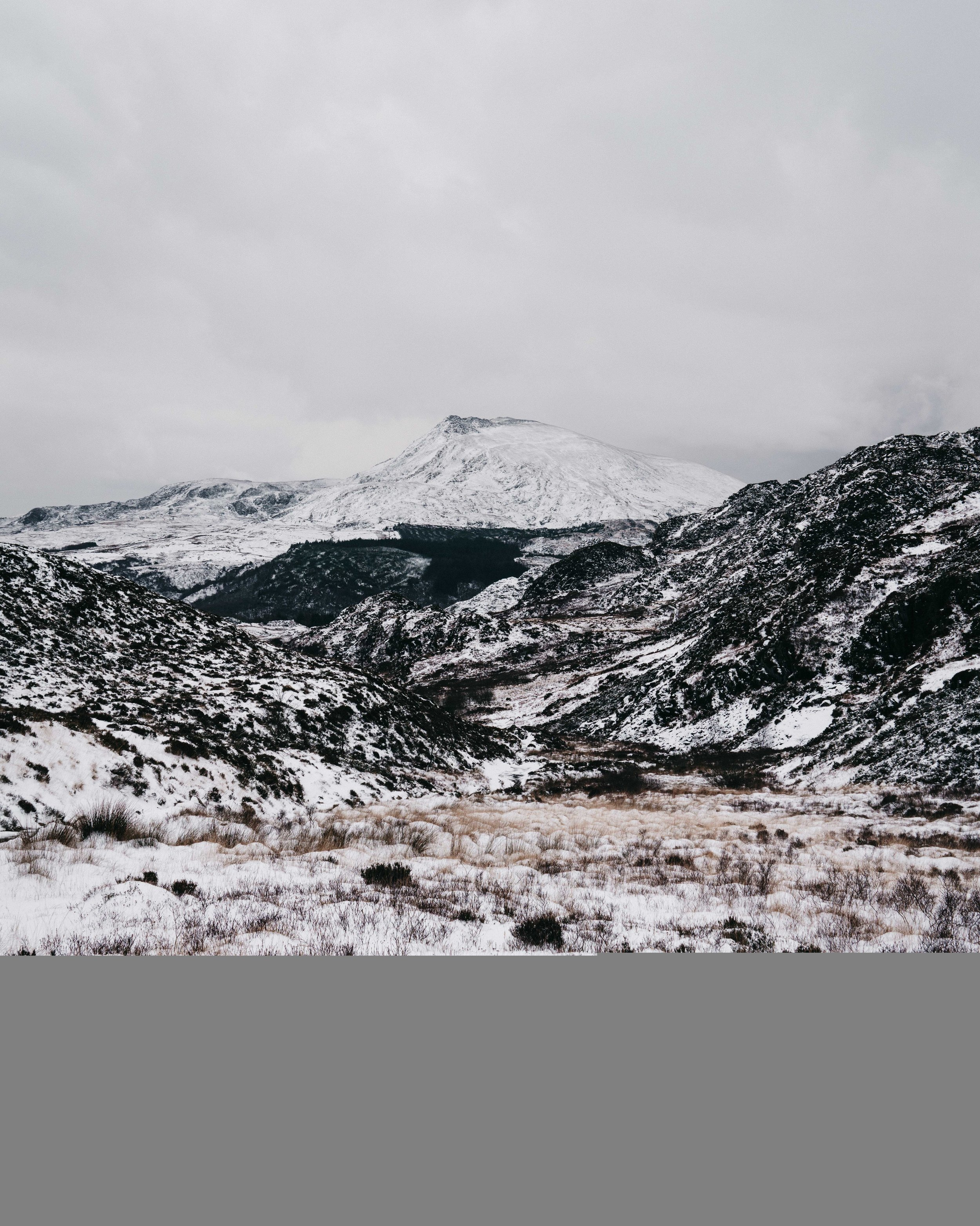 Moel Siabod in the distance