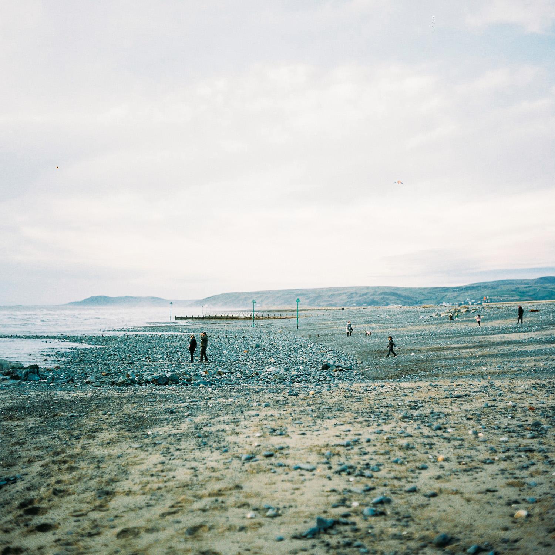 Borth's seaside