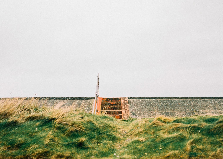 Borth's seawall