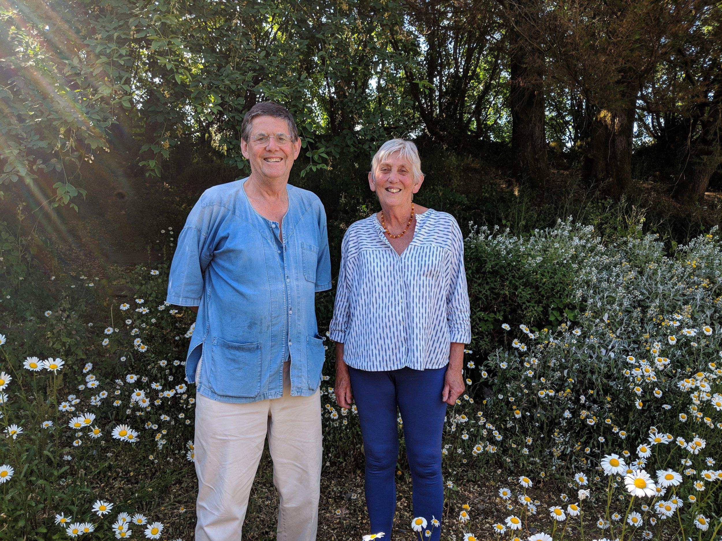 Hugh & Jude Crawford, Blaengors Farm, Dihewyd -
