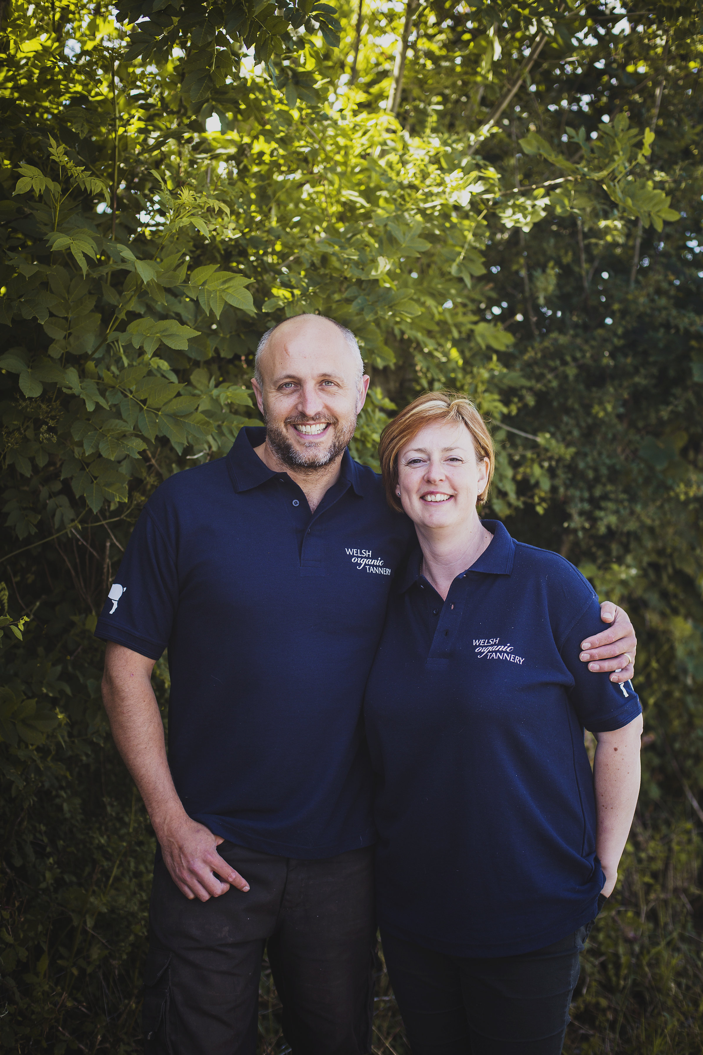- Emma & Steve Allum run Wales' only certified organic tannery based at their smallholding on the Carmarthenshire, Pembrokeshire border - producing luxurious bespoke hand finished sheepskin and goatskin rugs.