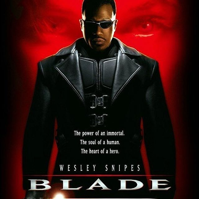 20 years ago today Blade was released! Do you think the character needs to make a come back?  Be sure to subscribe, rate, and review the @friendsforeels podcast! ***LINK IS IN THE DESCRIPTION*** #blade #wesleysnipes #marvel #marvelcomics #vampires #daywalker #20anniversary #bladetrinity #friendsforeels