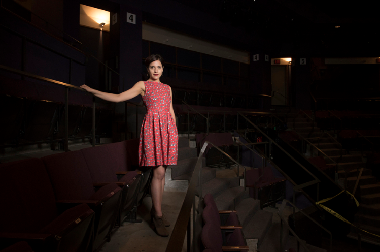 Photo taken by Sam English, inside the Actors Theatre of Louisville's Bingham Theater, featured in StyleBlueprint Louisville's  What to Wear: March 2017 Events in Louisville  feature.