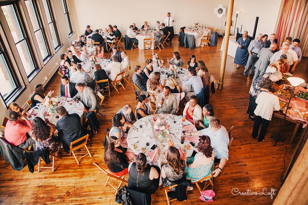WEDDING - THEATER CEREMONYLOFT RECEPTION