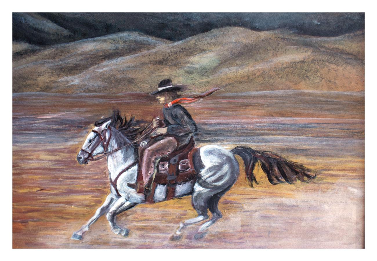 Pony Express, Acrylic, 2012