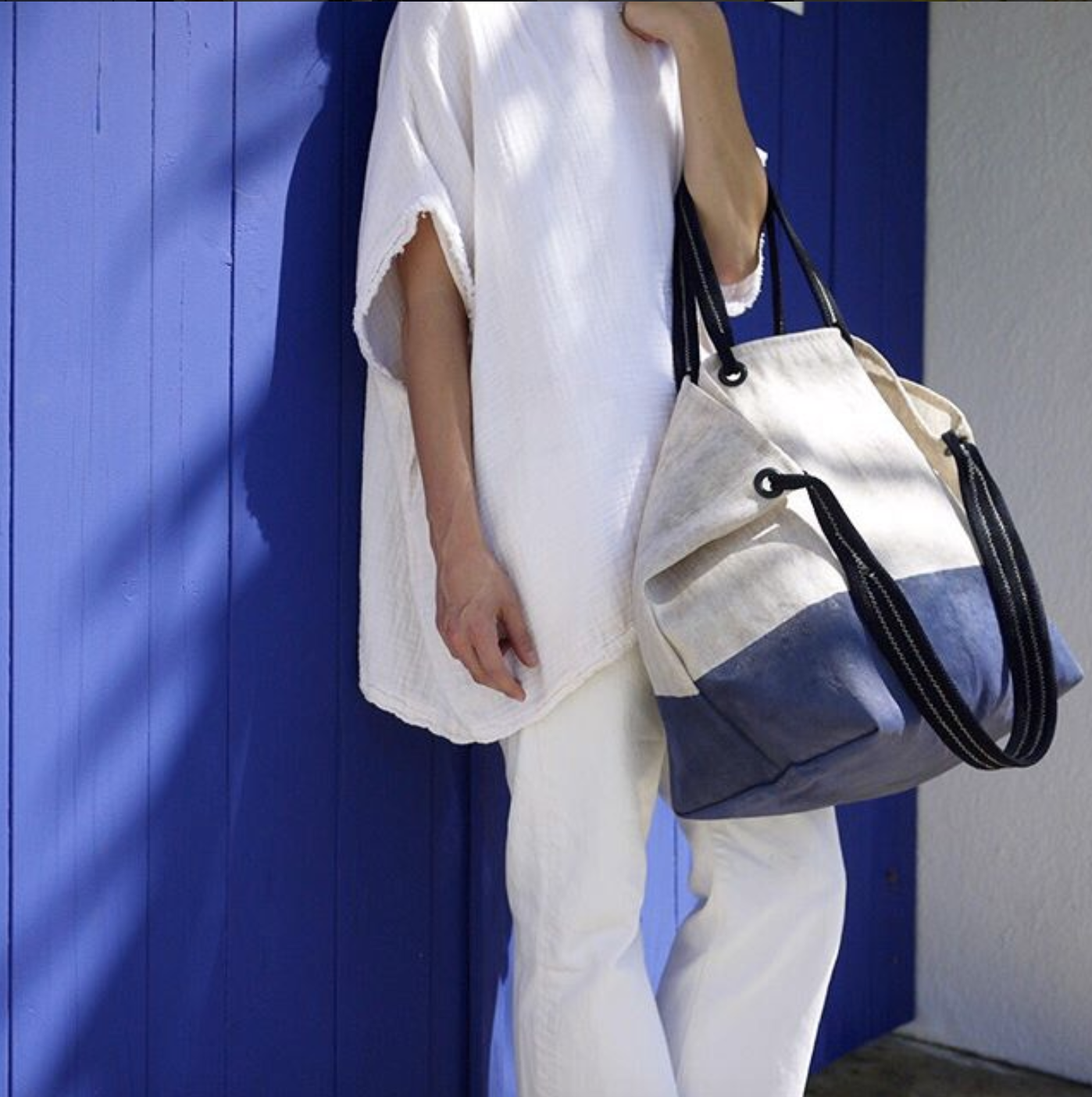 For the Recycling Champ - This day-to-night Cornerstone HP Navy Bag from Rewilder is a must for any eco fashionista. They'll be impressed with how this chic, creative brand diverts beer filters and old climbing ropes headed for the landfill and reintroduces them to the world as stunning bags – it's repurposing at its finest.
