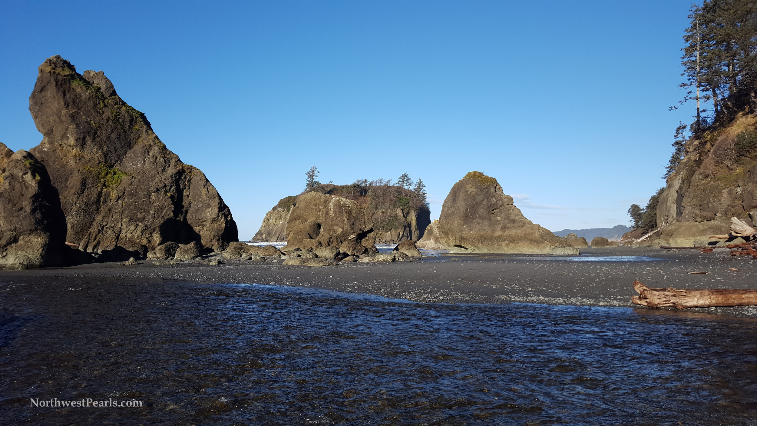 Northwest Pearls: Ruby Beach