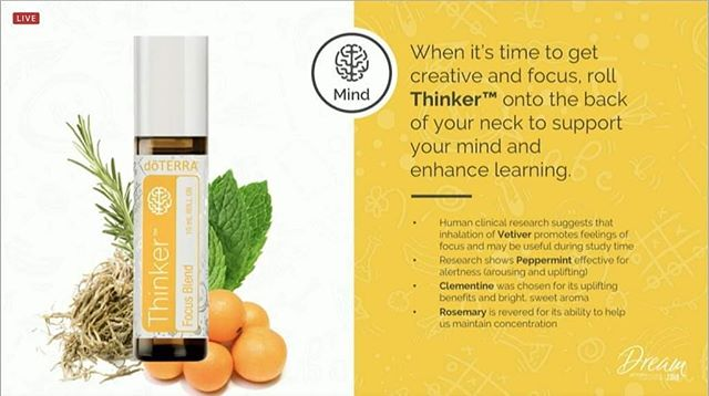Thinker is one of the essential oil blends for children. Get in touch to find out more!