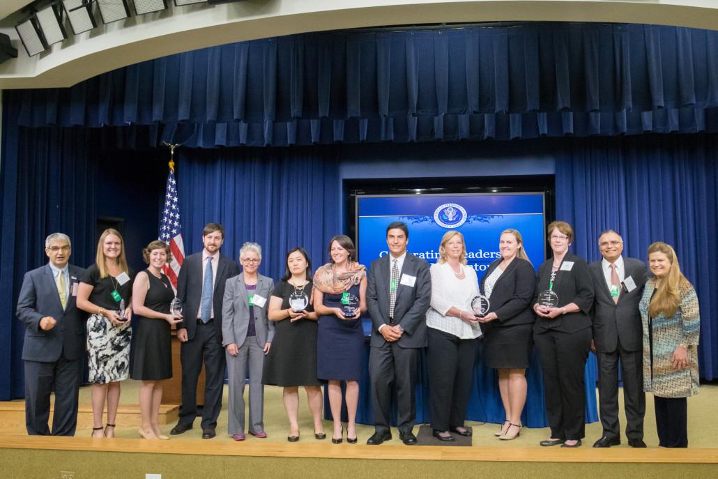 2016 STEM Mentoring Award Winner's