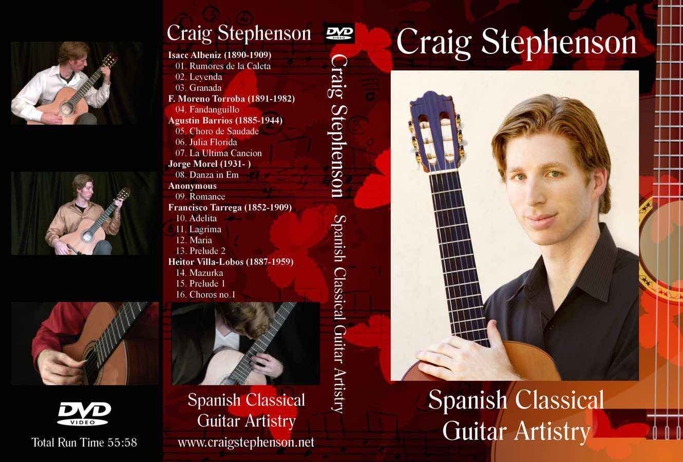 Video - Click here to watch Craig's performance clips from his 2013 DVD