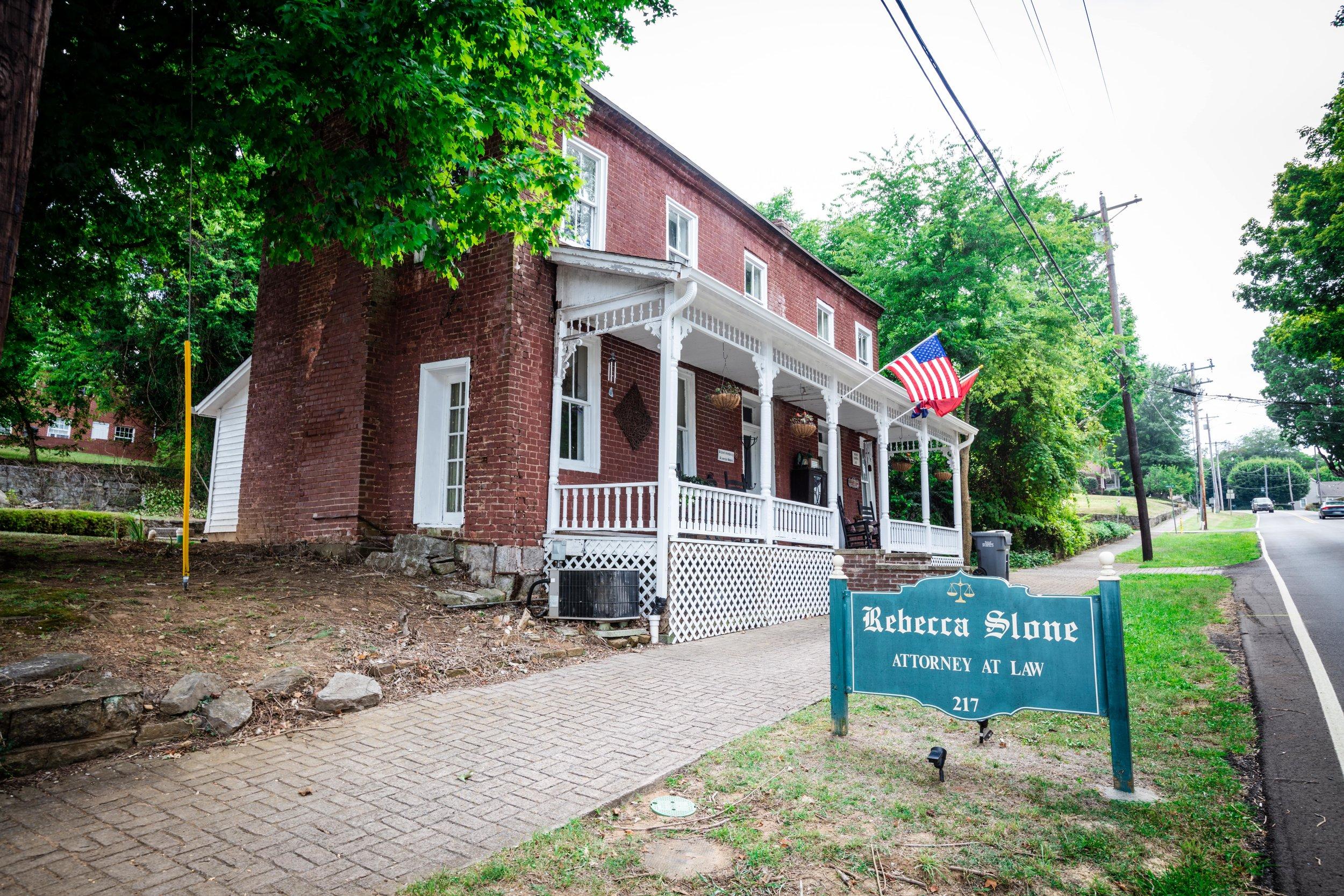 217 W. Main Street – Roper Tavern circa 1817