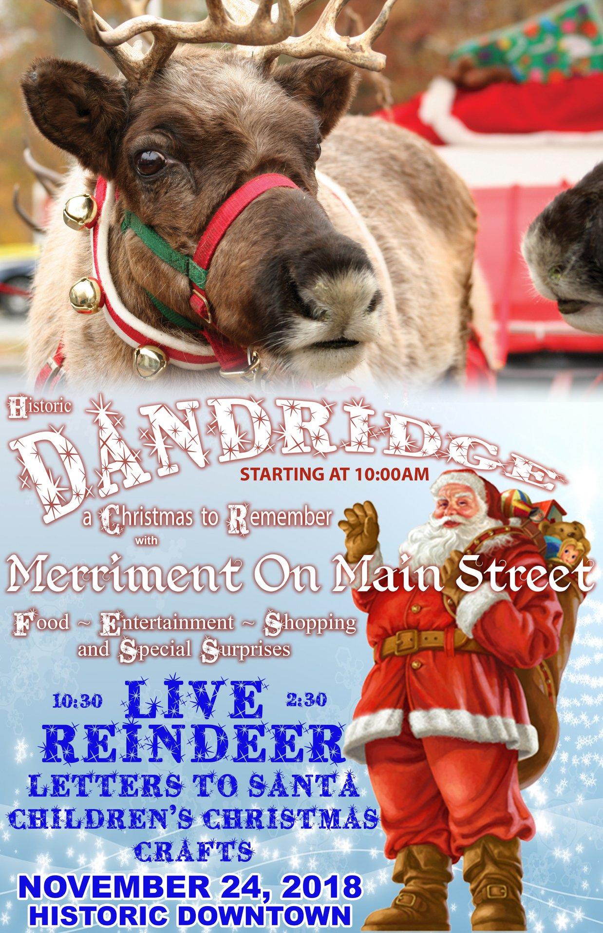 Merriment on Main Street, Dandridge, TN