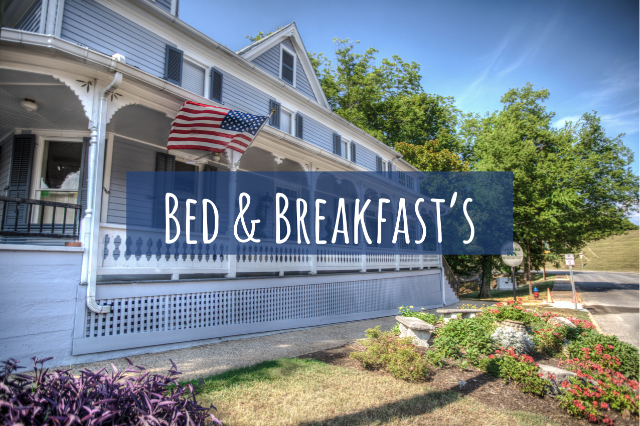 Get away from the hustle and bustle in one of the unique Bed & Breakfasts in Jefferson County.