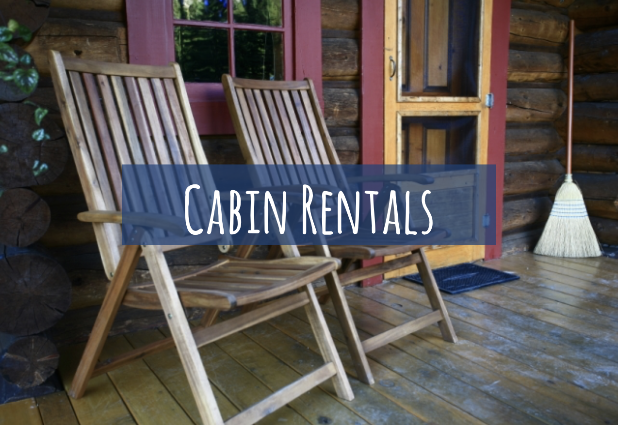 Perfect for a long weekend or a week long vacation, stay in one of many lakeside cabins.