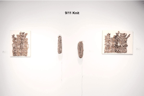 9/11 Knit Claire Renaut Seattle Textile Artist