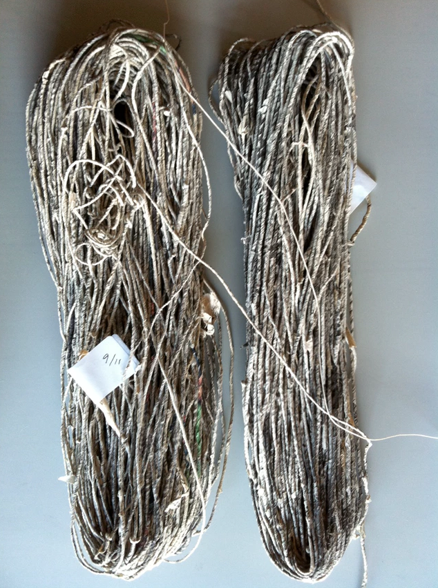 Skein 9/11 Knit Claire Renaut Seattle Textile Artist