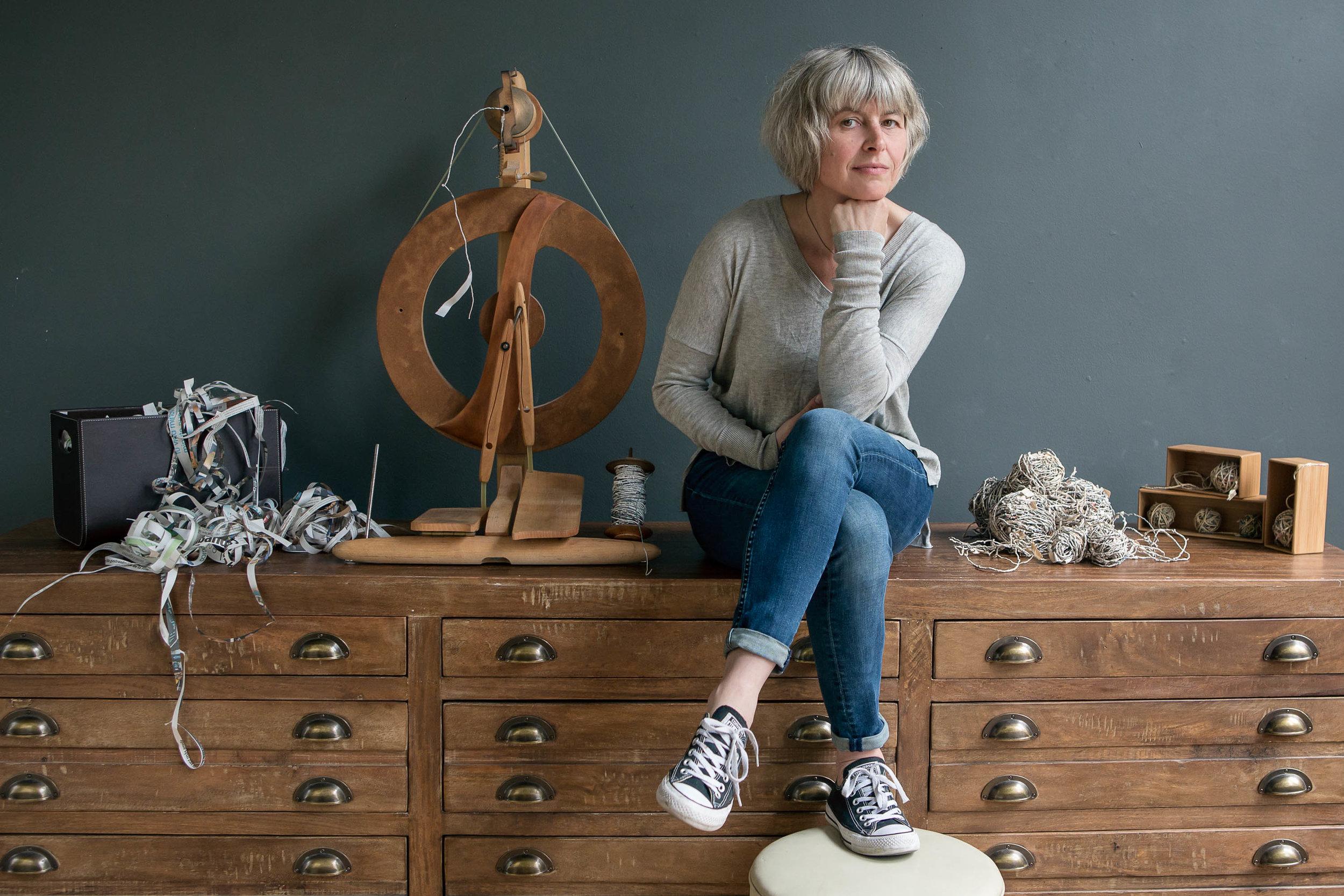 Claire Renaut Seattle Textile Artist
