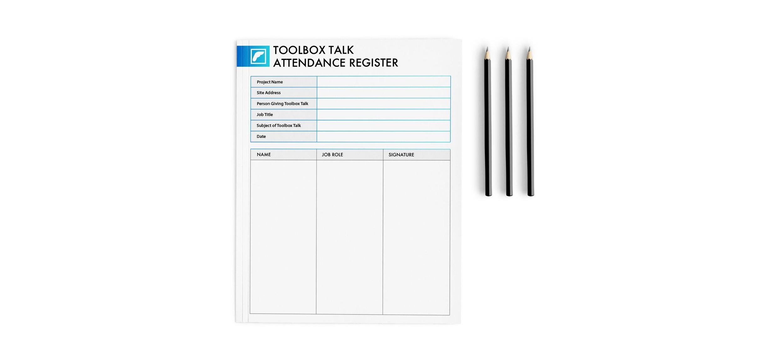 toolbox talk register