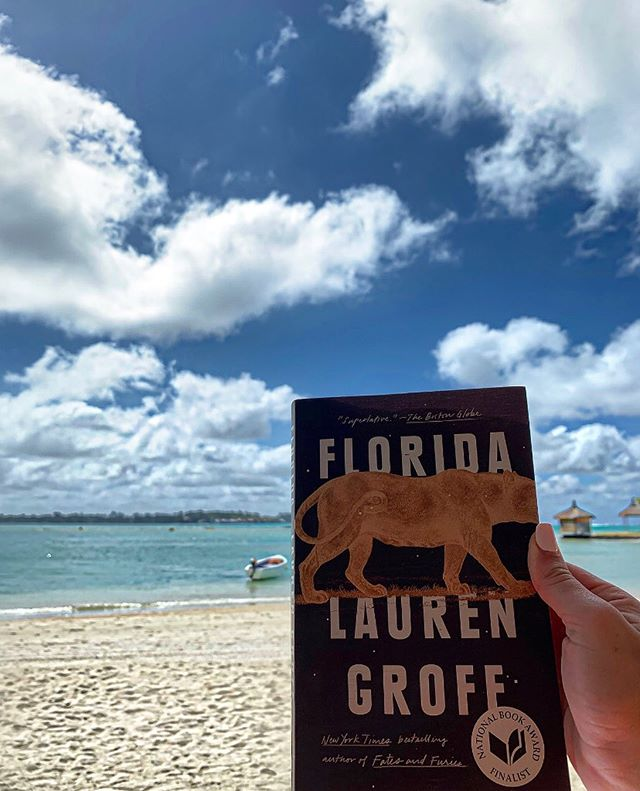 You know the books that make you want to be a better writer? This is one of them. . . . . . #bookstagram #florida #beachreads #amreading #amwriting #bookshelf #bookclub #literaryfiction #bookworm #bookish #laurengroff
