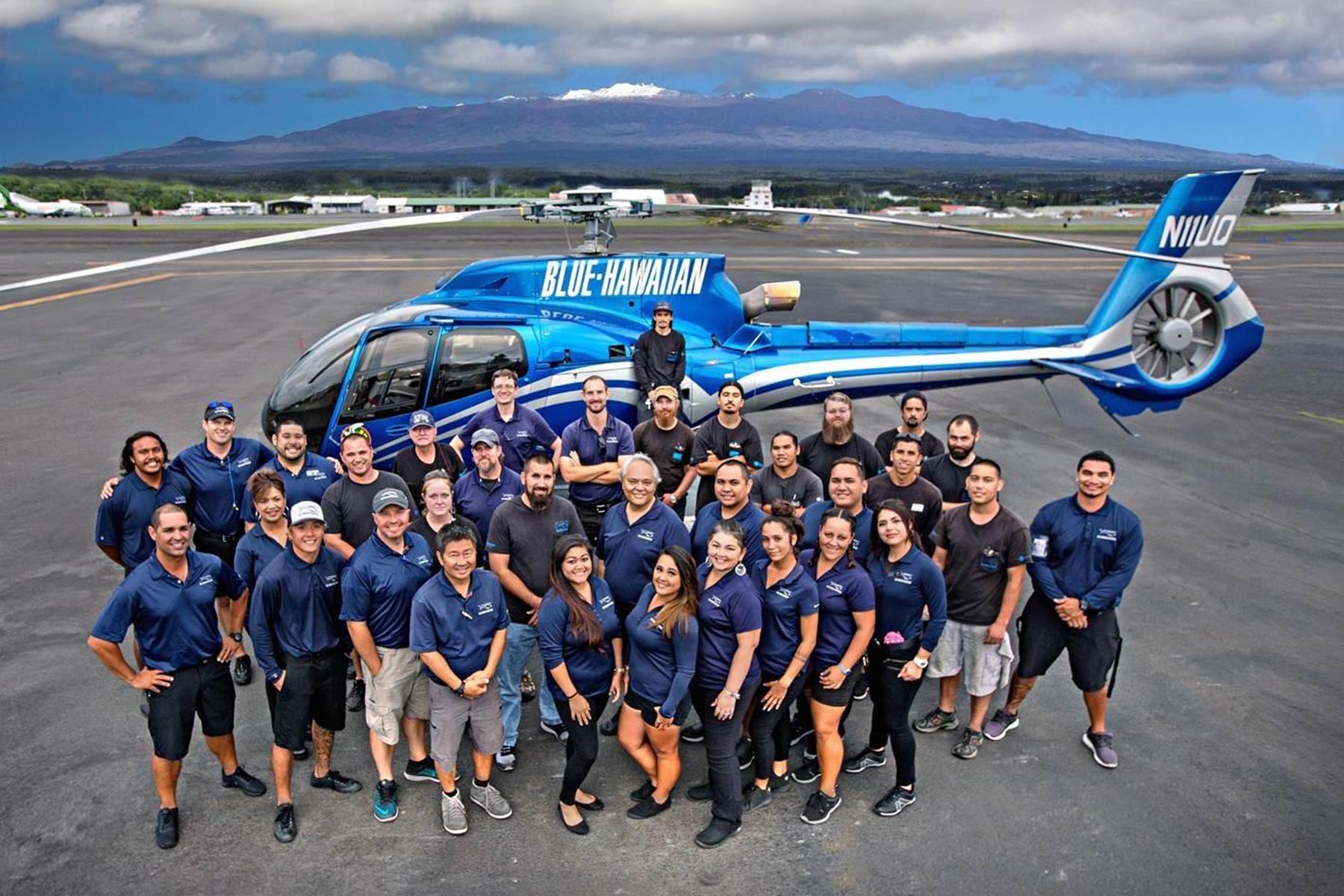 Blue Hawaiian Helicopter Team