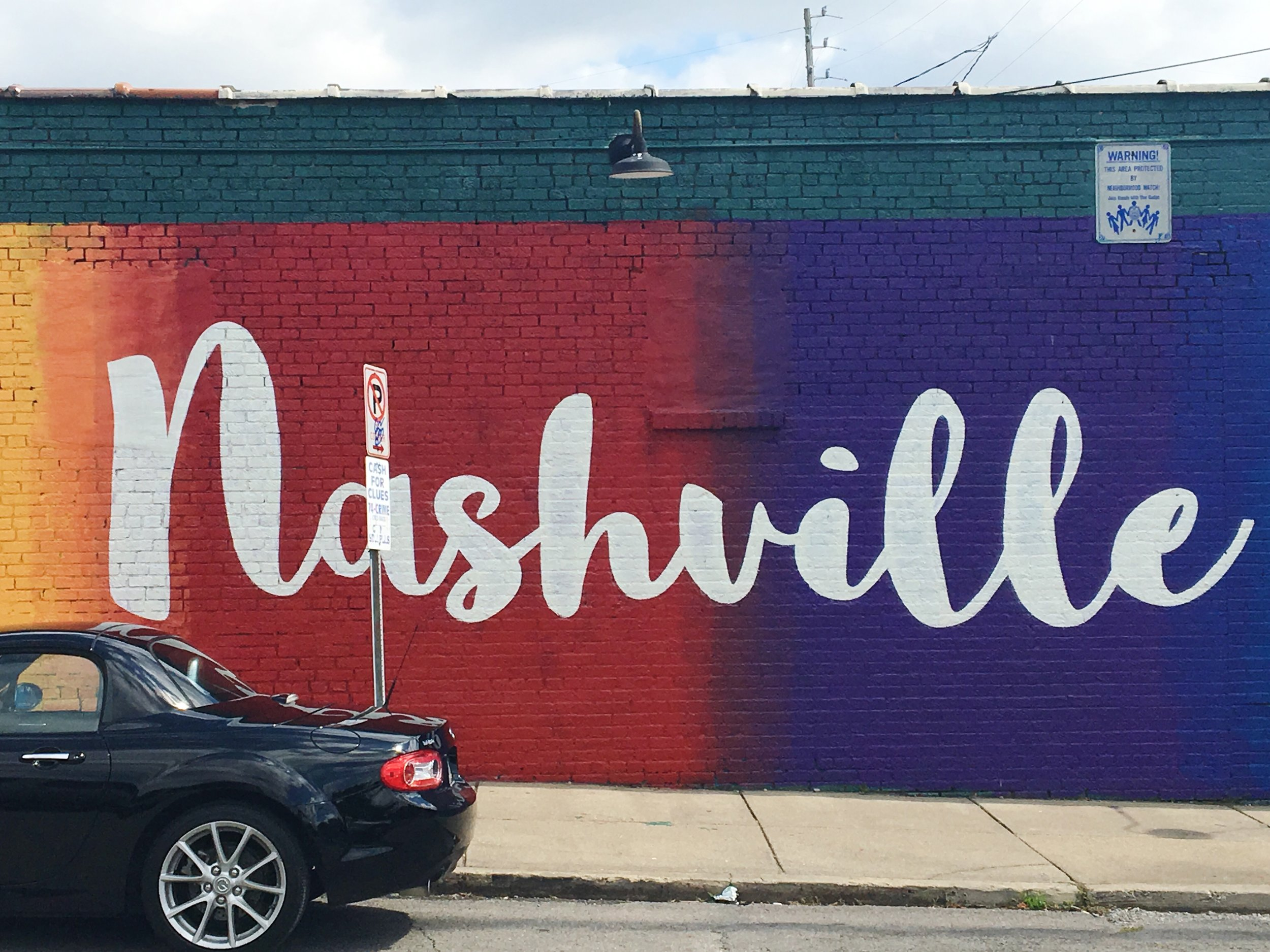 I Love Nashville Mural - Corner of Dallas & 12 South