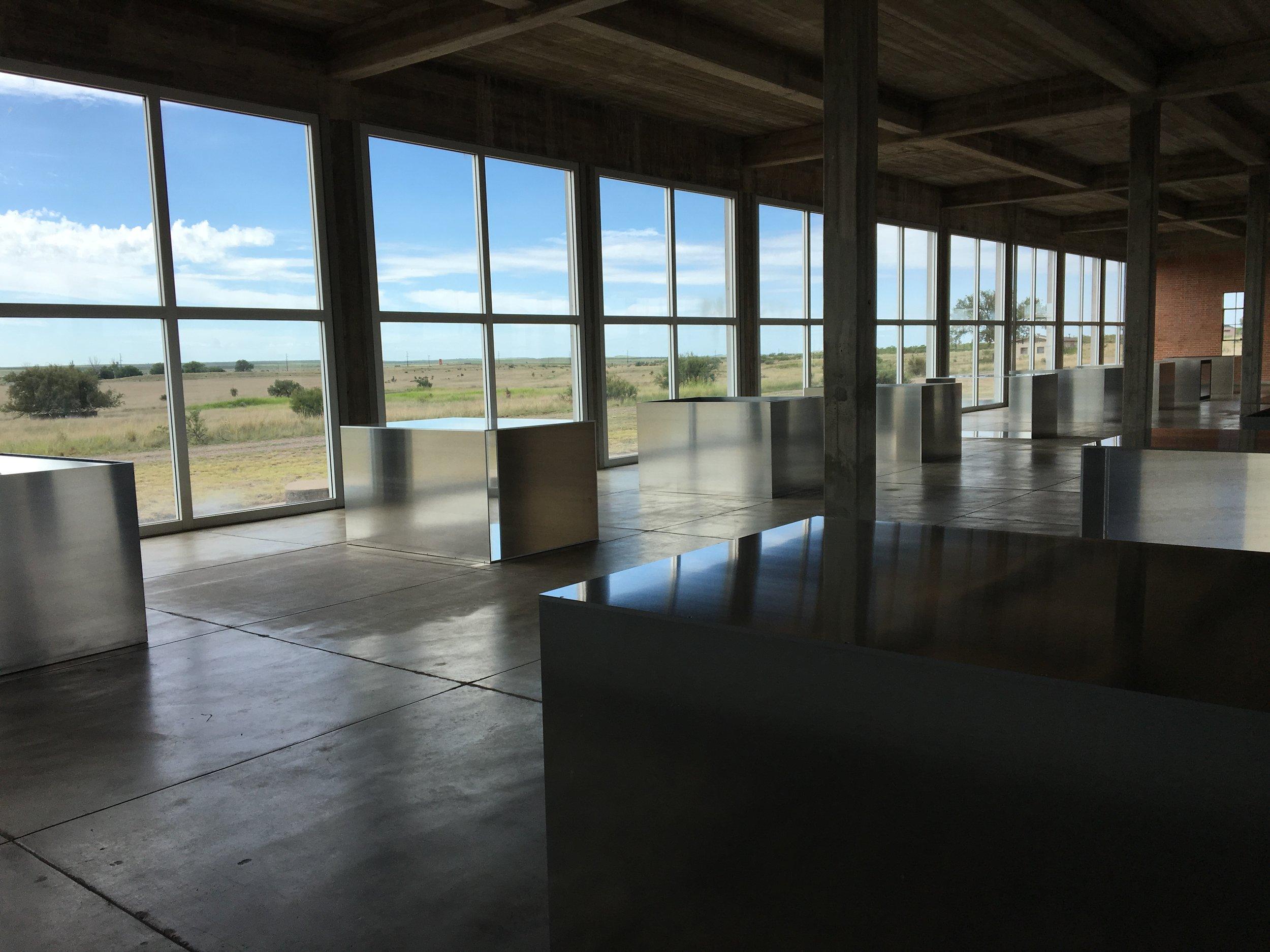 Donald Judd, untitled 100 milled aluminum