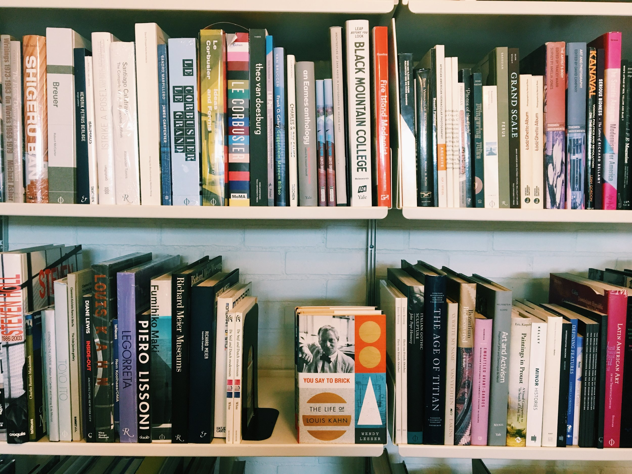 Inside Marfa Book Company