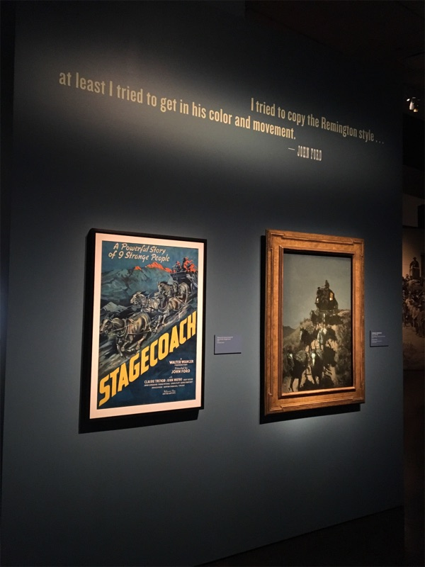 Western art's influence on John Ford movies.