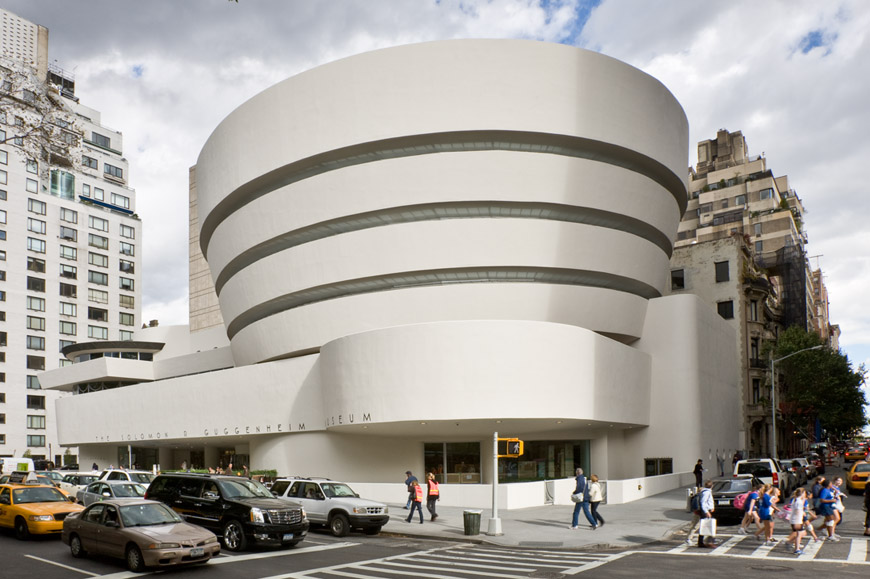 Frank Lloyd Wright, Guggenheim Museum, 1959