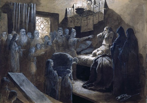Mikhail Petrovich Klodt (1835-1914),  Ivan the Terrible and the Souls of His Victims