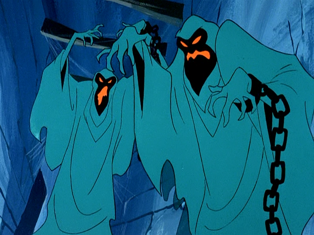 Green Ghosts from  A Night of Fright is No Delight , Scooby-Doo, Where Are You?